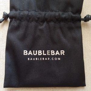 BaubleBar Jewelry - NWT BaubleBar Deco Baguette Ear Crawler - Silver